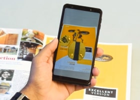 augmented reality for 3D contents